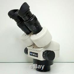 MEIJI EMZ-5 Stereo Zoom Microscope SWF10X Eyepieces 7X-45X Mag SERVICED #434