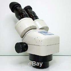MEIJI EMZ-5 Stereo Zoom Microscope SWF10X Eyepieces 7X-45X Mag SERVICED #435