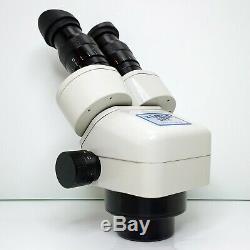 MEIJI EMZ-5 Stereo Zoom Microscope SWF10X Eyepieces 7X-45X Mag SERVICED #436