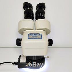 MEIJI EMZ-5 Stereo Zoom Microscope SWF10X LED 0.5X Barlow 151mm WD SERVICED #442