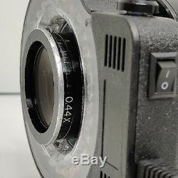 MEIJI EMZ-5 Stereo Zoom Microscope SWF10X LED. 44X Barlow 181mm WD SERVICED #440