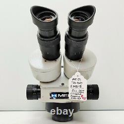 MEIJI EMZ-5 Zoom Stereo Microscope SWF10X Eyepieces 10X-45X Mag SERVICED #448