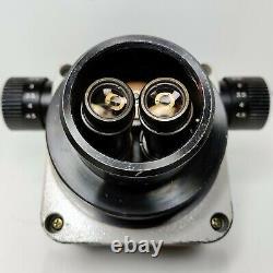 MEIJI EMZ-5 Zoom Stereo Microscope SWF10X Eyepieces 10X-45X Mag SERVICED #449