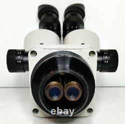 MEIJI TECHNO EMZ-5 Stereo Microscope SWF10X Stand EQUINE EMBRYO EXAMINATION #564