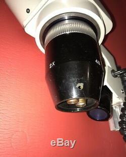 Meiji EMT 13439 Stereo Binocular 2x 4x10x 10x Microscope