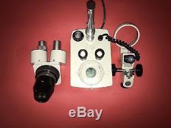 Meiji EMT Stereo Binocular 10x / 10x Microscope