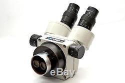 Meiji EMZ-5 Binocular Zoom Stereo Body Head 0.7X to 4.5X With2 10X Eyepieces
