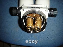 Meiji EMZ-5 Stereo Zoom Microscope head 0.7-4.5x zoom