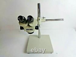 Meiji EMZ EMZ-5 Stereo Zoom Microscope with Boom Stand