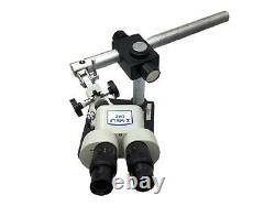 Meiji EMZ Series 4.5X Zoom Stereo Microscope with Adjustable Arm Leica Boom Stand