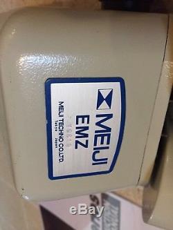 Meiji EMZ Stereo Microscope Pod Binocular Head Zoom 0.7 4.5x