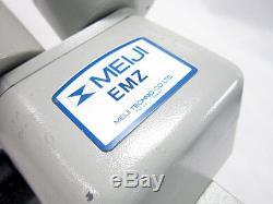 Meiji Techno Emz-5 Series Zoom Stereo Microscope Head With Microscope Mount