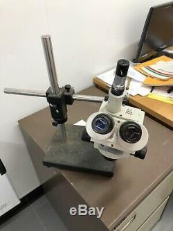 Meiji Z-7100 Binocular straight Zoom Stereo Microscope