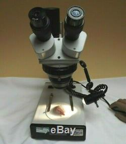Microscope Binocular Stereo Continual ZOOM C1985 Serviced and working