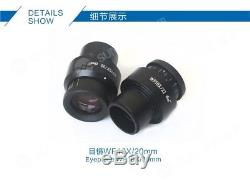 Microscope Binocular Stereo Professional 7x45 Zoom Metal Sunshine Szm6745