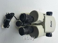 Motic SMZ-140 Stereo Microscope 10X-40X Zoom