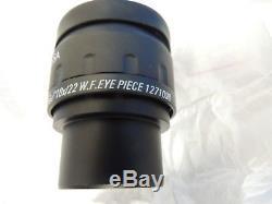 NEW Labomed CZM6 Binocular Microscope Stereo 8X-45X Zoom 10X/22 Eyepieces / BOX