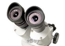 NEW Levenhuk 35323 3ST Microscope Stereo Binocular Two Objectives 20-40x