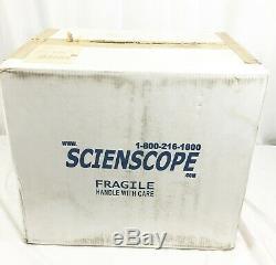 NEW Scienscope CO-ELZ-300 Stereo Zoom Binocular Microscope Complete 10X