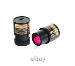 NEW Stereo Zoom Microscope XTL 7x-45X 88mm W. D. With 5MP Camera + Illumination