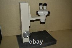 NIKON SMZ-1 STEREO MICROSCOPE with GRANITE BASE CFUW10x EYEPIECES (DA40)
