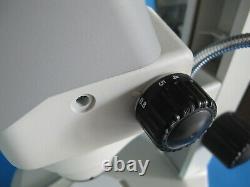 NIKON SMZ645 8x-50x STEREO ZOOM MICROSCOPE With LIGHT & 10X EYEPIECES