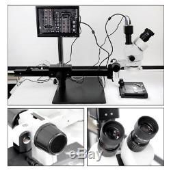 New High Definition Stereo Microscope Binocular Visual 745X With LED Light