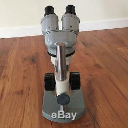 Nikon Laboratory 8X 40X Objective Stereo Zoom Binocular Microscope
