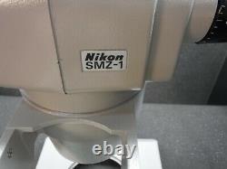 Nikon SMZ-1 Stereo Binocular Microscope Head, With Adjustable Single Arm Stand