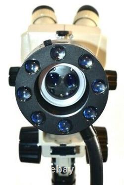 Nikon SMZ-1 Stereo Zoom Microscope Colposcope With Cryomedics Light Source & Stand