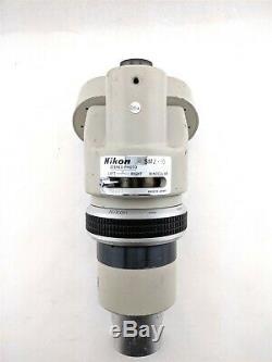 Nikon SMZ-10 26070 Stereo Photo Left Right Binocular Microscope Head Piece