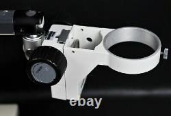 Nikon SMZ-1B ESD Stereo Zoom Microscope with Single Arm Boom Stand & Base, 10x/21
