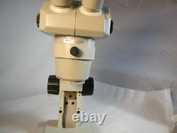Nikon SMZ-1B Stereo zoom Microscope 8-35X on Nikon Desktop stand