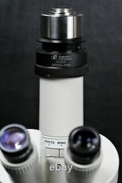 Nikon SMZ-2T Stereo Zoom Trinocular Microscope with Stand, 10x/22 & 0.55x C-Mount
