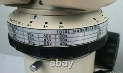Nikon SMZ Stereo microscope, 40x magnification, tested, warranty