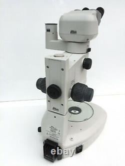 Nikon SMZ1500 Stereo Microscope Plan Apo 1x C-DSD Stand P-BERG Binocular P-IBSS2