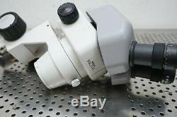 Nikon Smz645 Stereo Zoom Microscope C-w10xa/22 Eyepieces