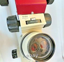 OLYMPUS SZ3060 0.9 to 4.0X Stereo Zoom Microscope 10x/22 Eyepieces withSZ-STP