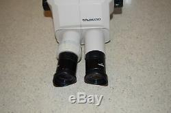 ++ OLYMPUS SZ3060 STEREO ZOOM MICROSCOPE HEAD With GWH10 x 23 EYEPIECES (JF4)