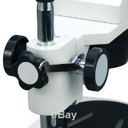 OMAX 20X-40X Student Binocular Stereo Microscope+3MP Camera+Cleaning Pack+Book