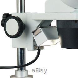 OMAX 20X-40X Student Binocular Stereo Microscope+5MP Camera+Cleaning Pack+Book