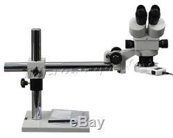OMAX 3.5X-90X Boom Binocular Stereo ZOOM Microscope with 54 LED Light