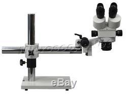 OMAX 3.5X-90X Boom Stand Binocular Stereo Zoom Microscope