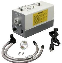OMAX 7-45X Zoom Binocular Stereo Microscope+Shadowless 150W Gooseneck Cold Light