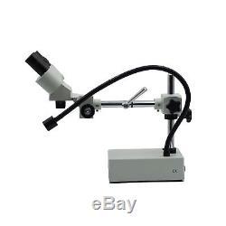 OPTO-EDU A22.1201-C1 Professional Binocular Stereo Microscope, WF10X and WF20