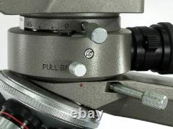 Olympus BHM Stereo Microscope with Illuminator 4 Neoplan Objectives Works GREAT