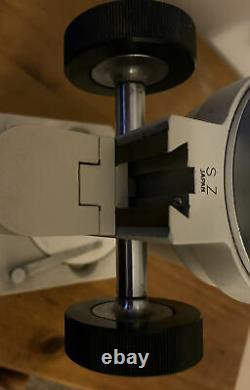 Olympus SZ Binocular Stereo Zoom Microscope SZ 1960s, Made In Japan