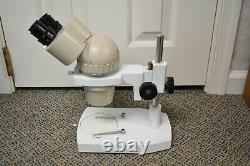 Olympus SZ Stereo Microscope 20x Eyepieces 0.7 4x Zoom