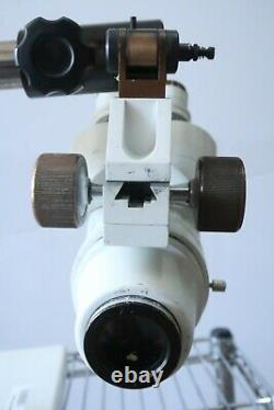 Olympus SZ3 Stereo Zoom Microscope with Boom Stand, 20X Eyepieces