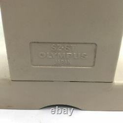 Olympus SZ4045 Stereo Microscope Head, With SZ-ST Stand, No Eyepieces Included